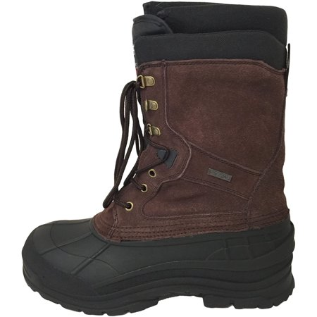 Men's Winter Boots Leather 10