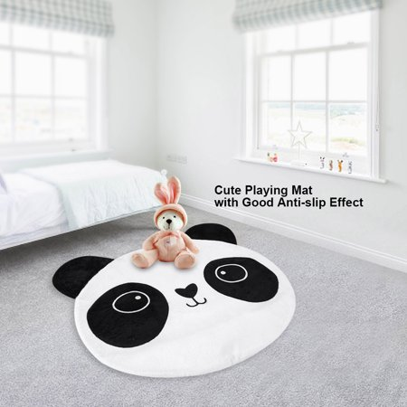 Walfront Cotton Children Kids Bedroom Rugs Anti Slip Mini Carpets