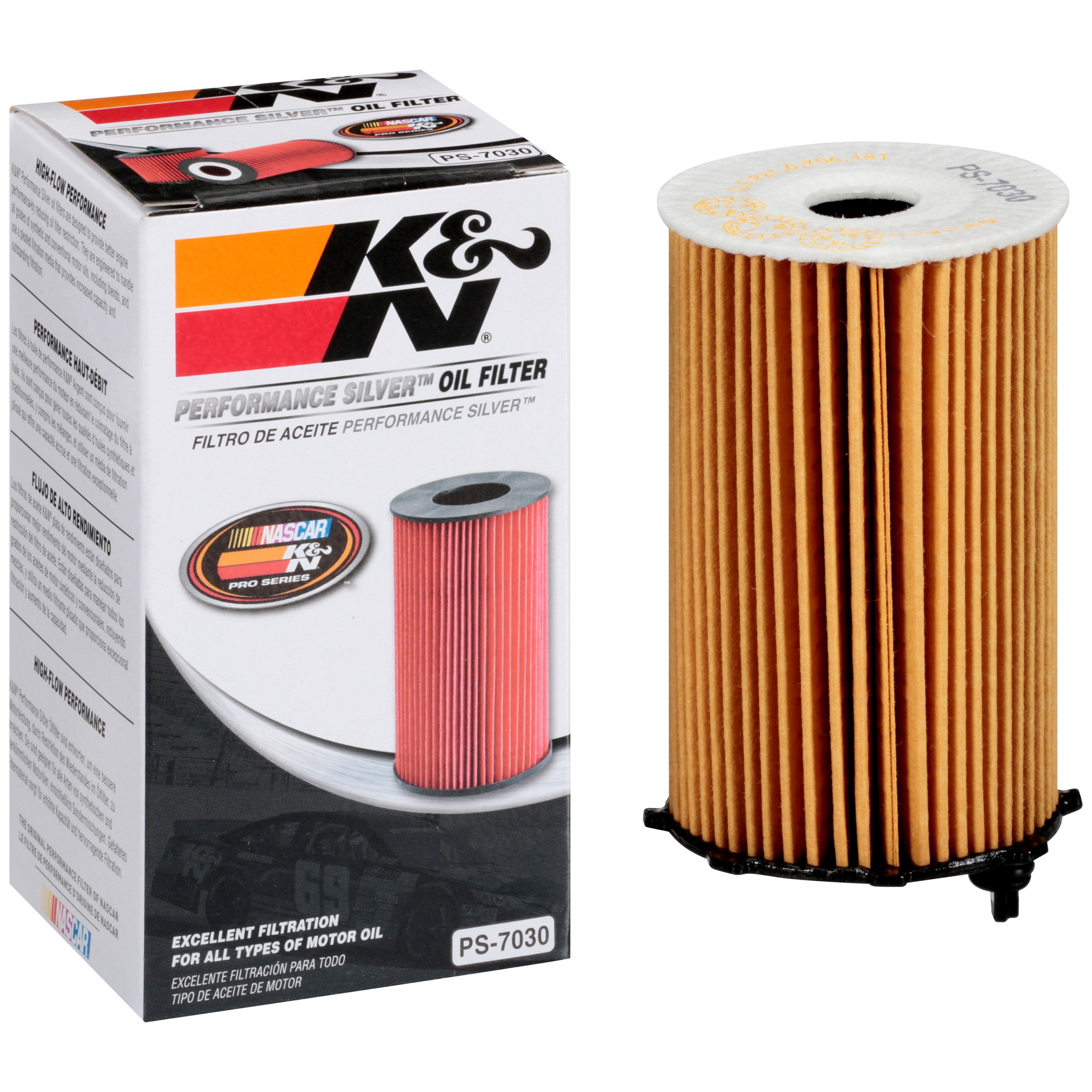 K&N® Performance Silver™ PS-7030 Oil Filter Box