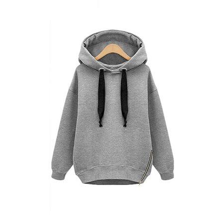 - Hoodies Sweatshirt for Women Winter Autumn Hooded Jumper Sweater Pullover Long Sleeve Tops Casual Coat Outwear Jacket
