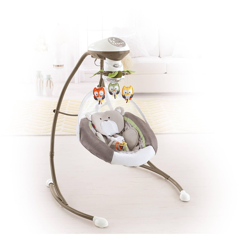 Fisher-Price My Little Snugabear Cradle 'n Swing - Best Swings