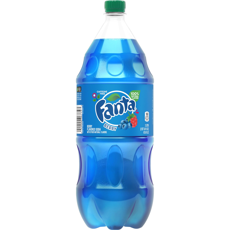 Fanta Caffeine-Free Berry Soda, 2 L