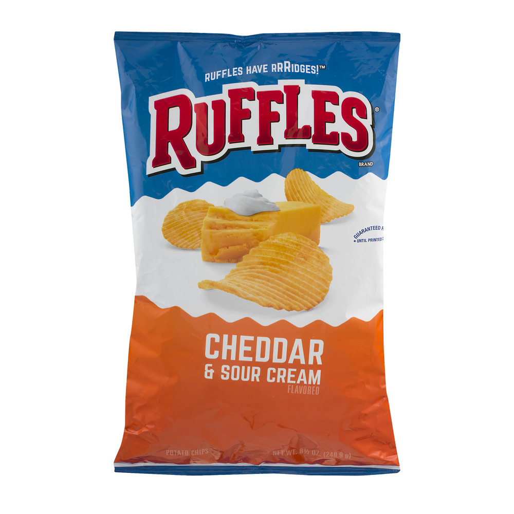 Ruffles All Dressed Potato Chips 85 Oz Walmartcom
