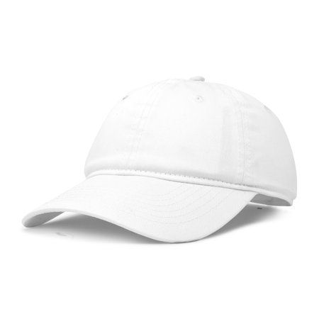 18e5ab452fe4f DALIX - DALIX Womens Pastel Lovers Cap - Adjustable Hat with Velcro Closure  in White - Walmart.com