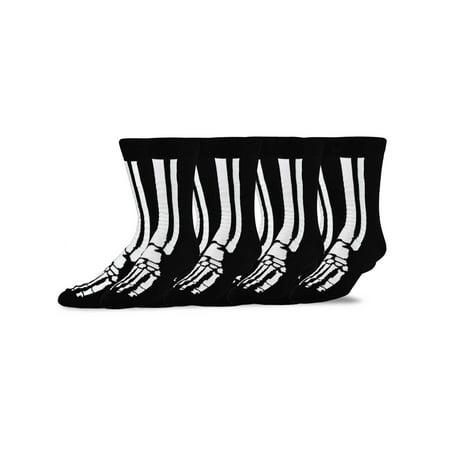 Halloween Huf Socks (TeeHee Novelty Young Men Halloween Fun Crew Socks)