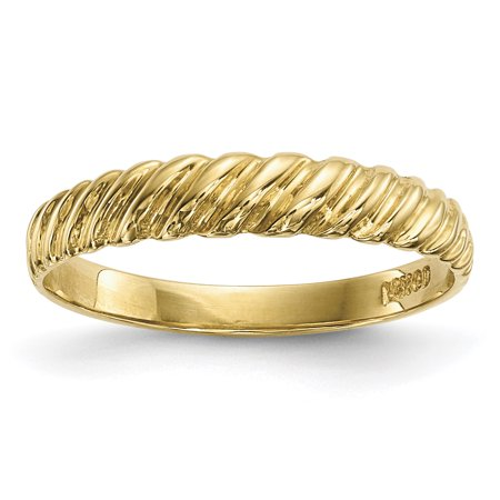 14k Madi K Kids Polished Twist Ring GK974
