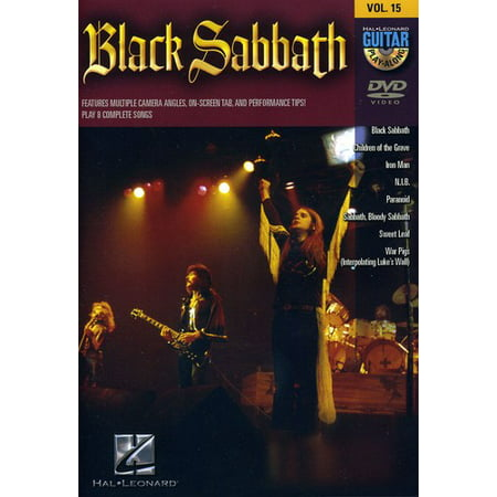 Guitar Play Along: Black Sabbath: Volume 15 (Black Sabbath Anthology Guitar Tab)