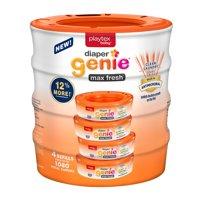 Playtex Diaper Genie Max Fresh, 4 Refills