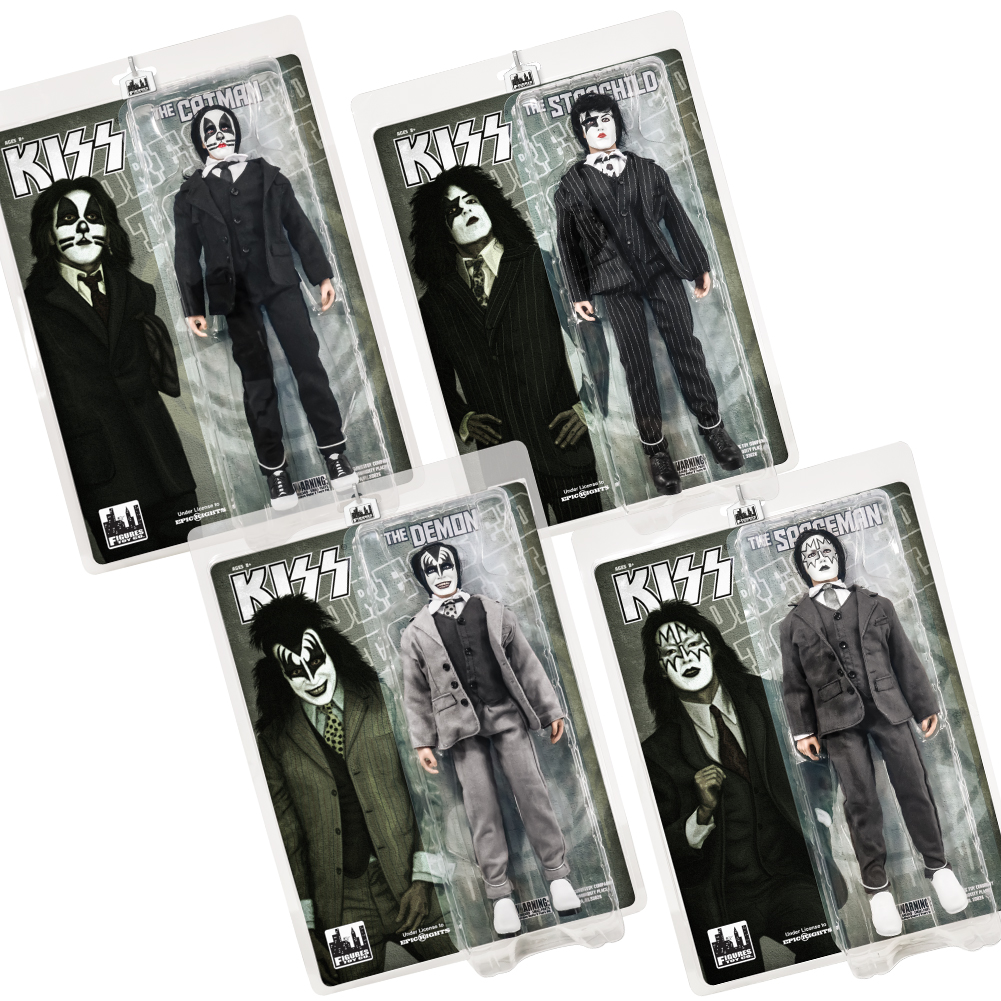 KISS 12 Inch Action Figures Dressed To Kill Re-Issue Series The Catman