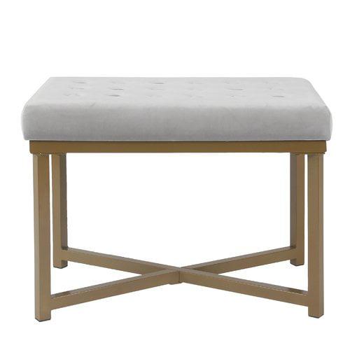 Mercer41 Bridgegate Tufted Vanity Bench by