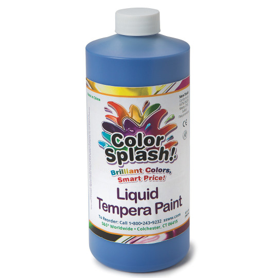 32-oz. Color Splash! Liquid Tempera Paint-Green
