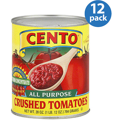 Cento All Purpose Crushed Tomatoes, 28 oz, (Pack of 12)