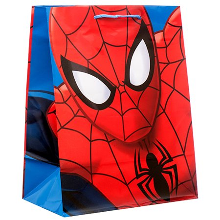 Paper Bags Wholesale (New 374804  Gift Bag Spider-Man Large (4-Pack) Gift Wrapping Cheap Wholesale Discount Bulk Party Supplies Gift Wrapping)