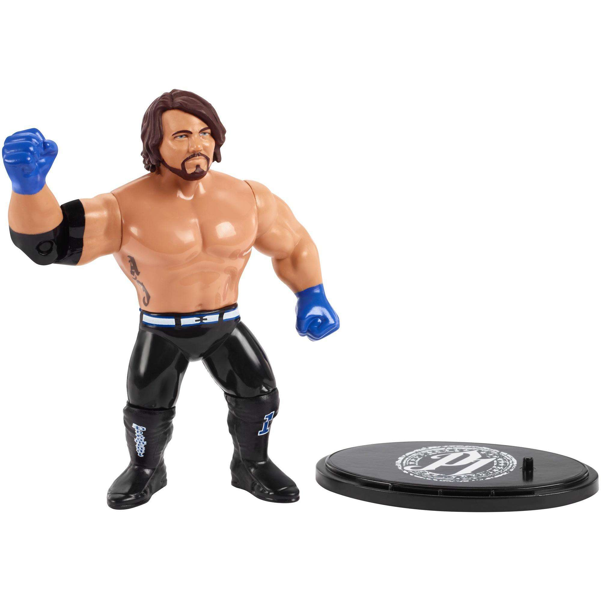 WWE Aj Styles Retro App Action Figure