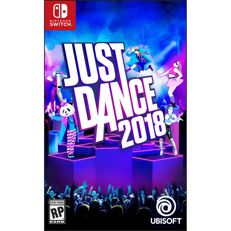 Just Dance 2018, Ubisoft, Nintendo Switch, REFURBISHED/PREOWNED