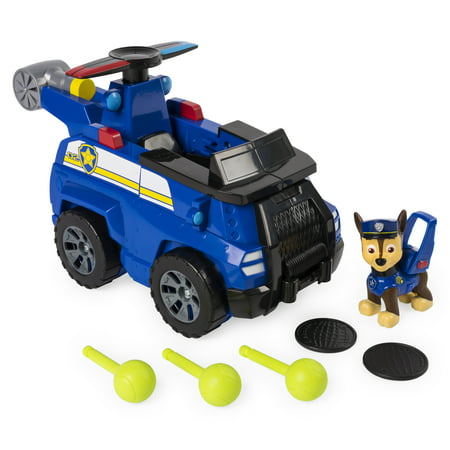 Paw Patrol - Flip & Fly Chase, 2-in-1 Transforming Vehicle - Toys That Fly