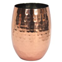 18 Oz. Copper Plated Stainless Steel Stemless Wine Glass