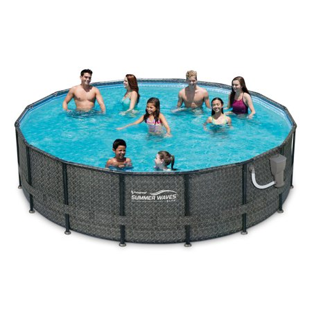 Summer waves elite 16 39 x 48 premium frame above ground - Summer waves pool ...