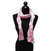 Pink Ribbon Breast Cancer Awareness Scarf Headband Sash