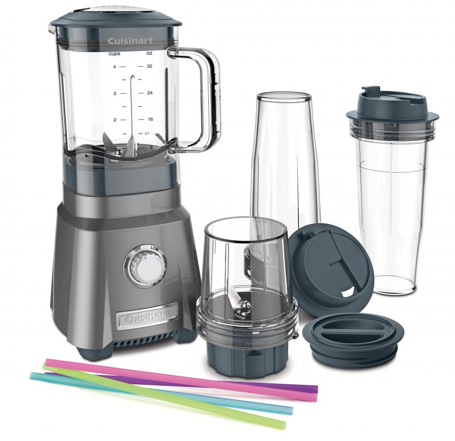 Cuisinart Hurricane Compact Juicing Blender, Black Stainless