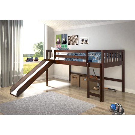 Twin Mission Low Loft-With Slide