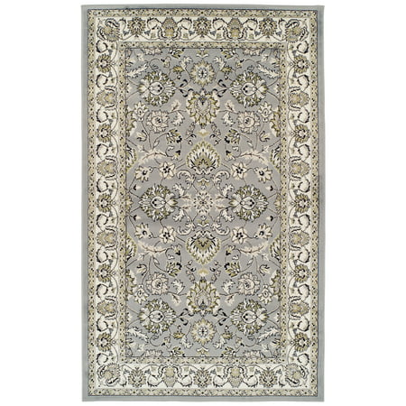 Impressions Lillie Scrolling Floral and Vine Area Rug