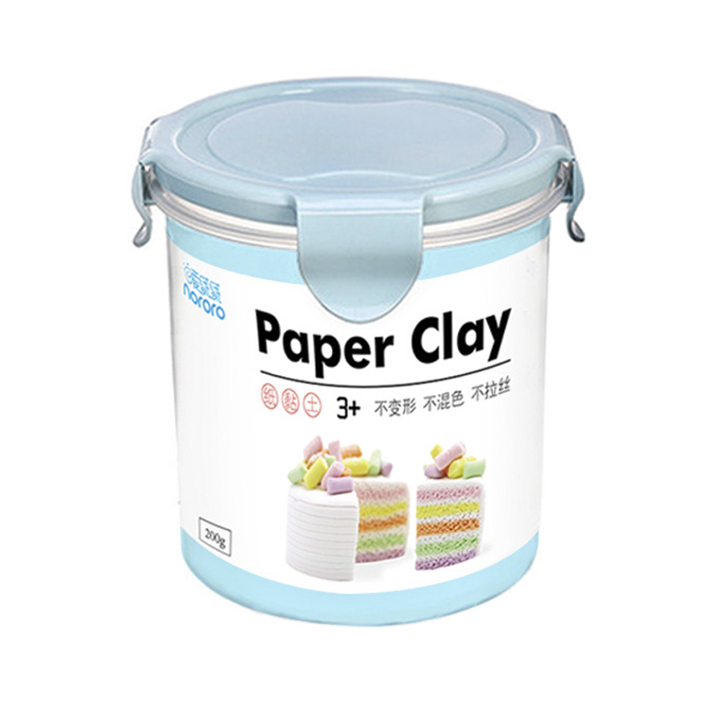 800ml Non-toxic Clay Sand Plasticene Light Colorful Mud Stress Relieve DIY Toys Color:Blue