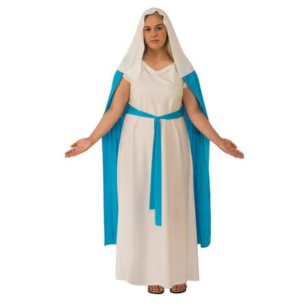 Mary Adult Costume - Plus - Adult Mary Costume