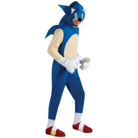 Sonic the Hedgehog Deluxe Adult Costume for $<!---->