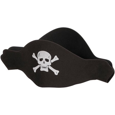 Foam Pirate Hat, 1ct (Pirate Hats)