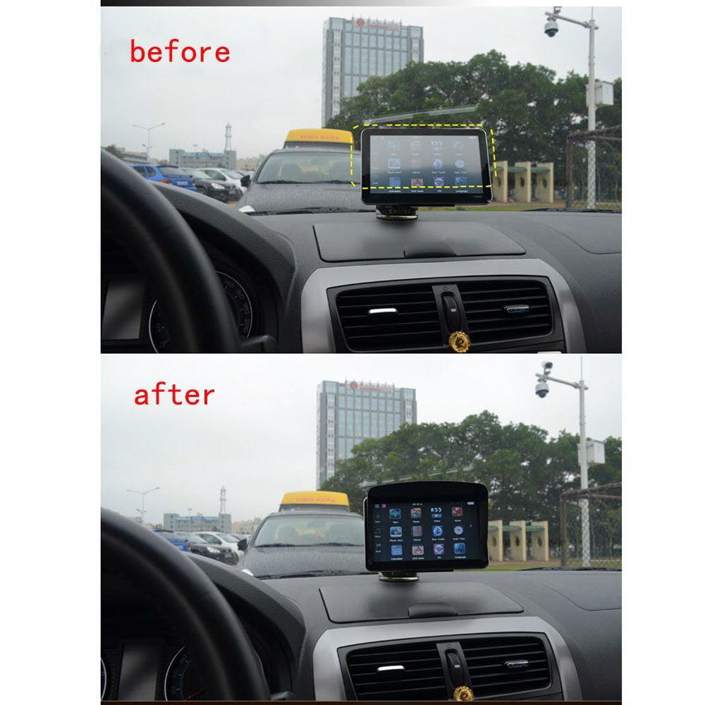 "AGPtek Sun Shade Shield Glare Visor for Universal 7"" Inch GPS Navigation"