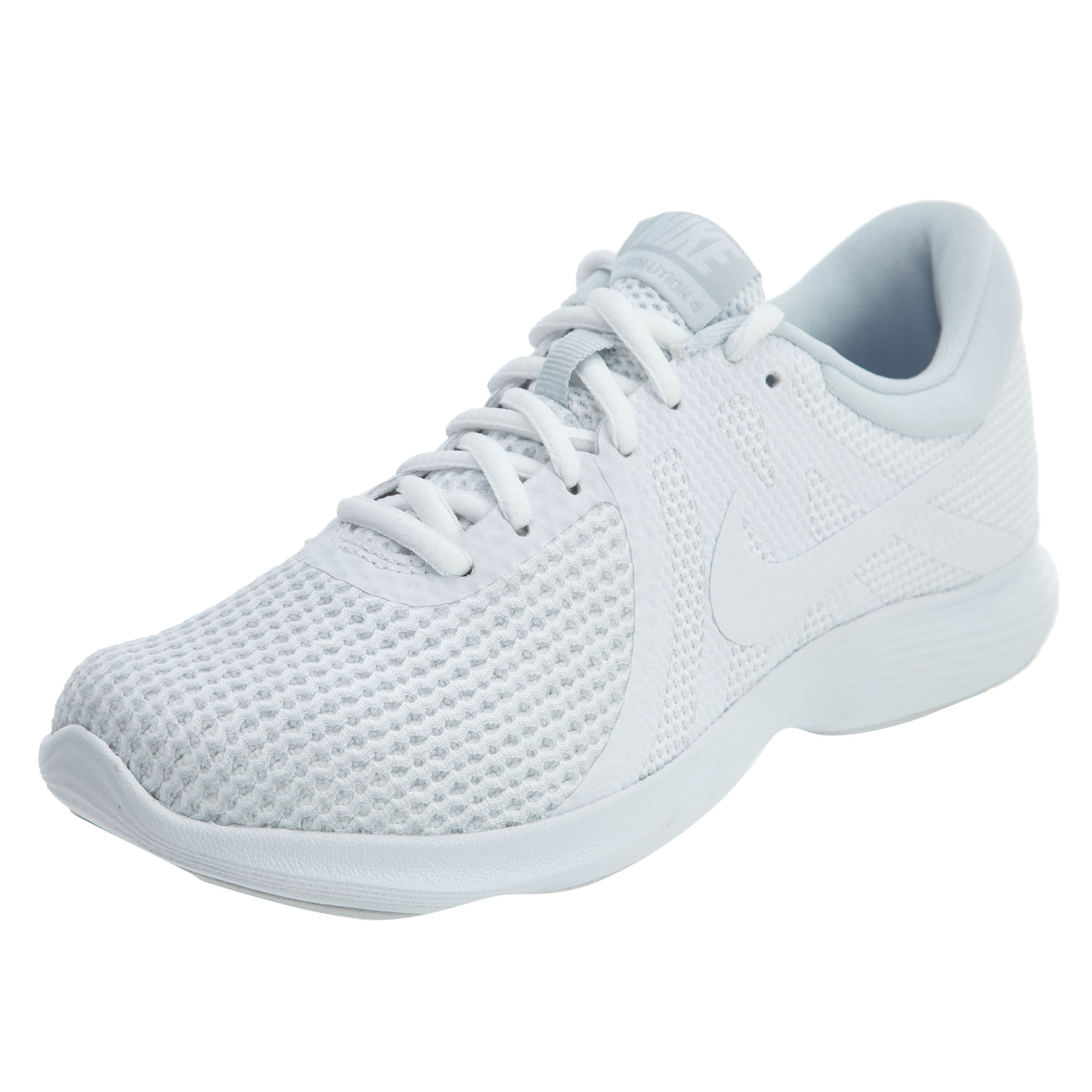 Nike Athletic REVOLUTION 4 Womens White Athletic Nike Running Shoes b0002f