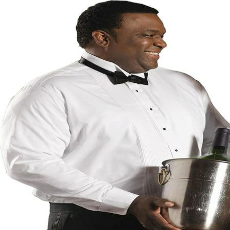 Spread Collar Tuxedo (Edwards Garment Men's Wing Collar Tuxedo Shirt, Style 1390 )