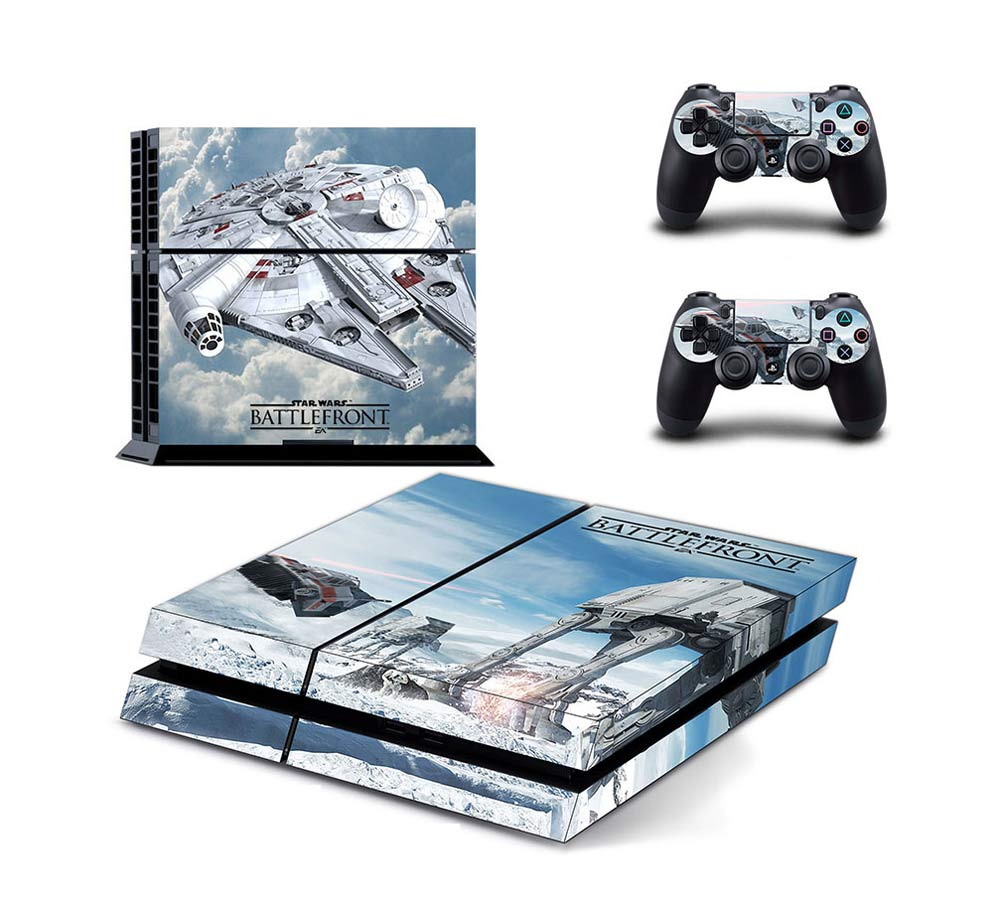 Sony Playstation 4 Controller Skin Decals Vinyl Stickers Star Wars Battlefront by Generic