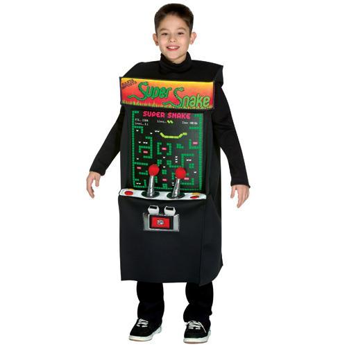 Child Arcade Game Costume
