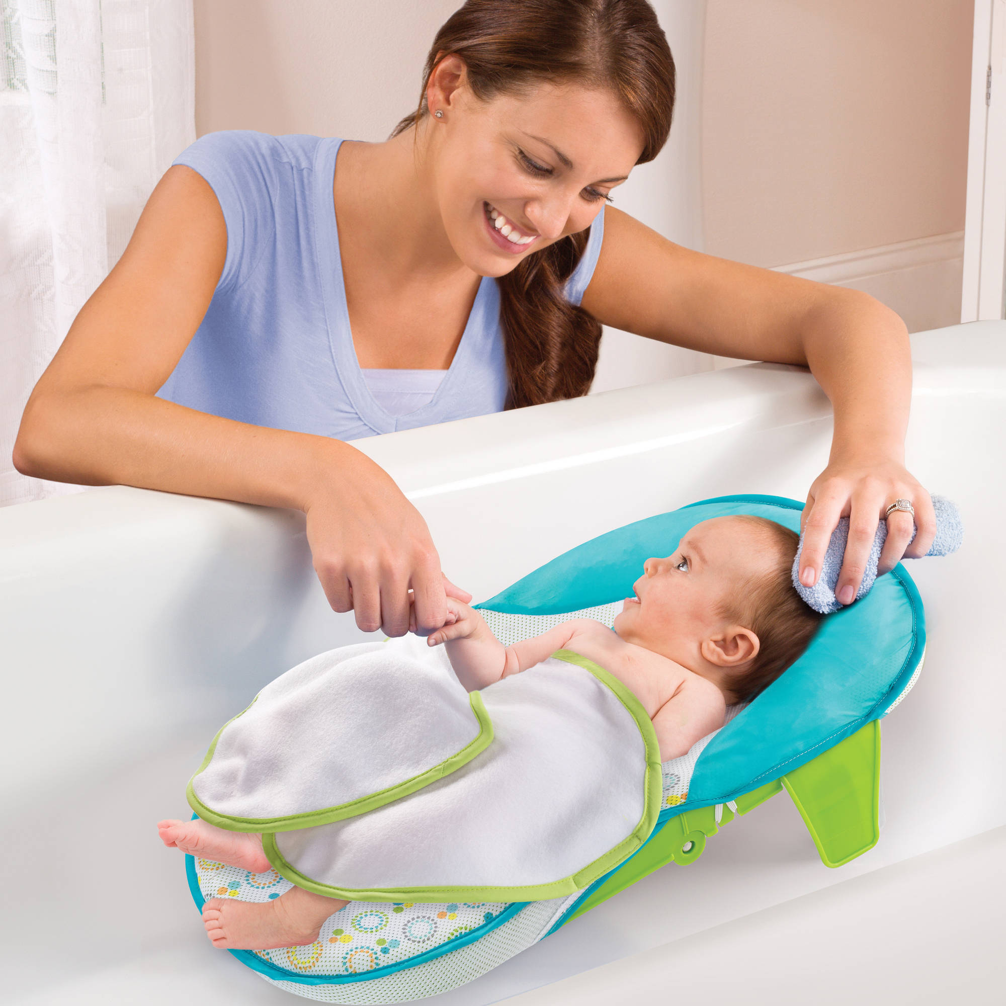 Summer Infant Folding Bath Sling with Warming Wings - Walmart.com