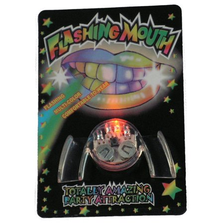 Flashing Mouth Piece By Novelties Wholesale - Wholesale Novelty Items