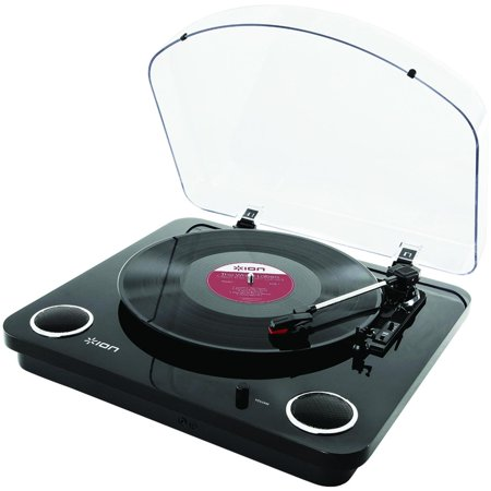 ION Max LP Conversion Turntable with Stereo