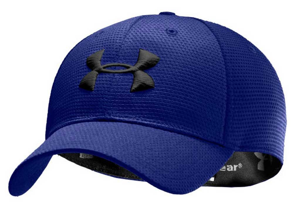 Under Armour - Men s UA Blitzing II Stretch Fit Baseball Cap Hat 1254123 -  Walmart.com bc6dc0cb9362