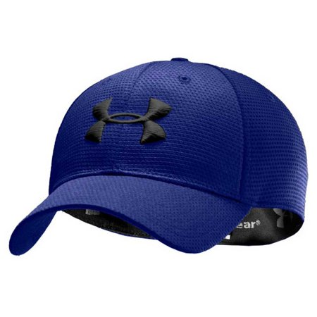 eb9898b0b92 Under Armour - Men s UA Blitzing II Stretch Fit Baseball Cap Hat 1254123 -  Walmart.com