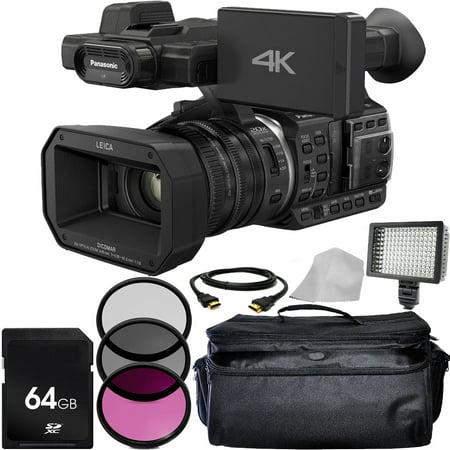 Panasonic HC:X1000 4K DCI/Ultra HD/Full HD Camcorder Basic Package
