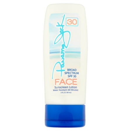 Panama Jack Face SPF 30 Lotion is sheer dry touch formula, contains CoQ10 antioxidant.