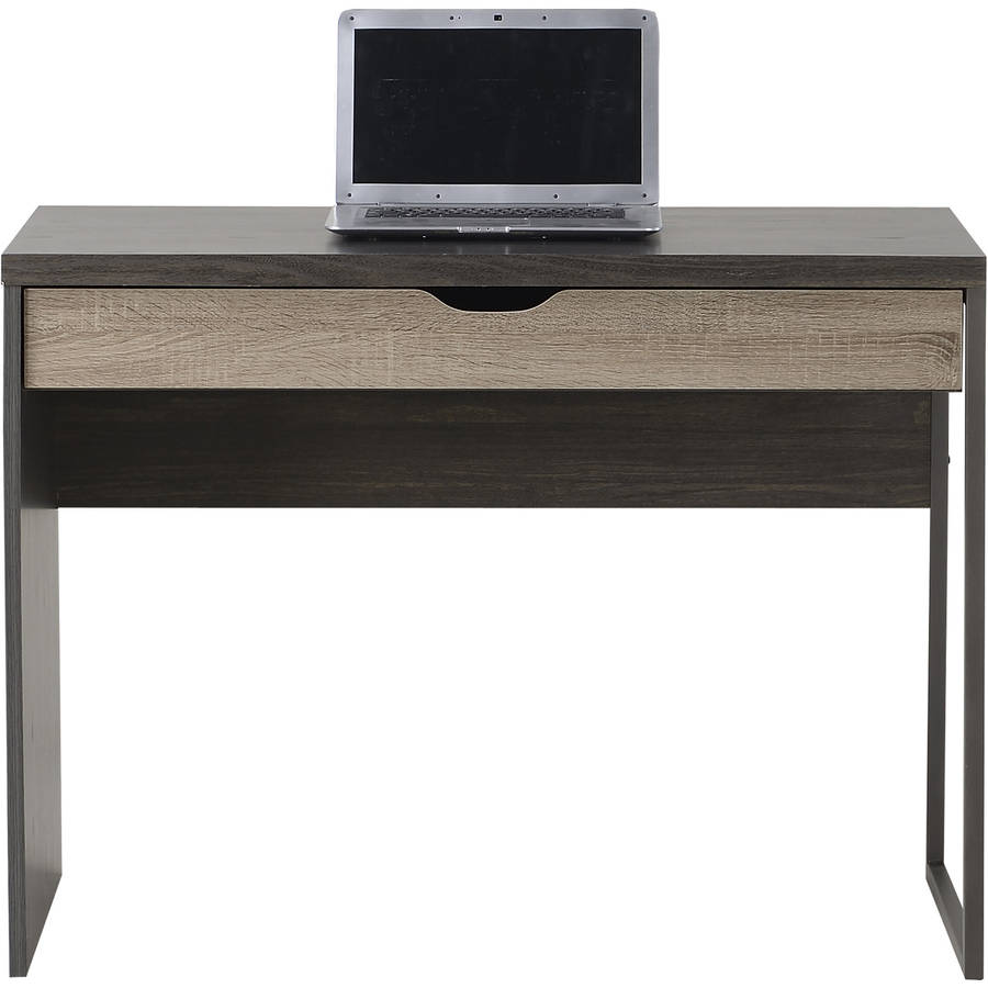 . Homestar 1 Drawer Laptop Desk  Reclaimed Wood   Walmart com