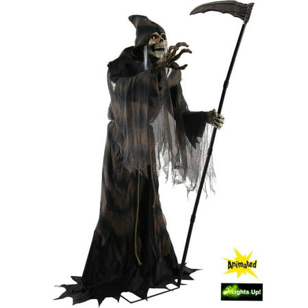 Lunging Reaper Animated Prop](Halloween Animated Props Cheap)
