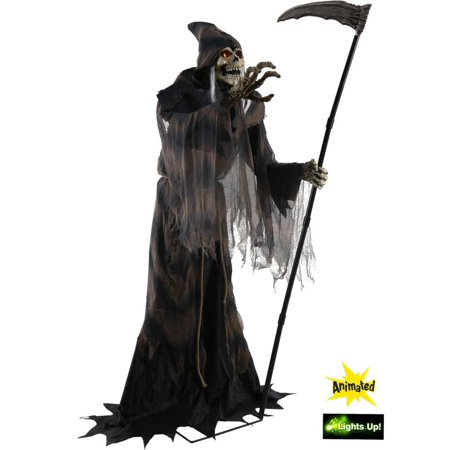 Lunging Reaper Animated Prop (Animated Halloween Props For Sale)
