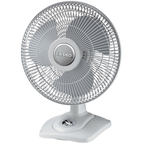 "Lasko 12"" Oscillating Premium Table Fan  D12900"