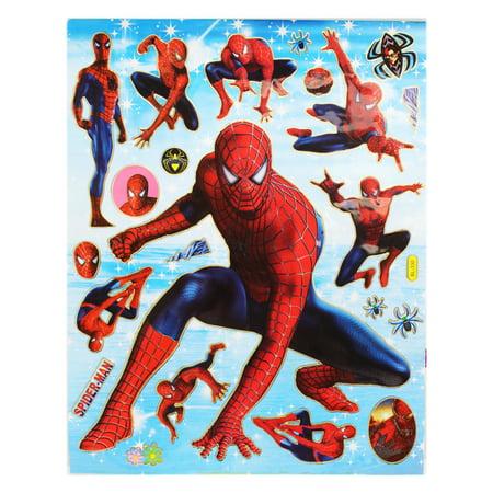 Spider-Man Spider Sense Heroic Leaps and Poses Sticker Set (22 - Spiderman Pose