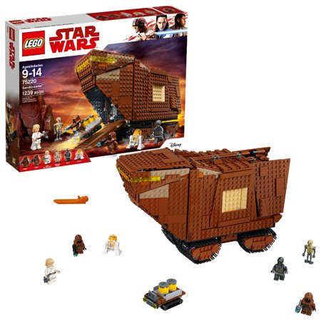 LEGO Star Wars TM Sandcrawler 75220 Building Set (1,239 Pieces)