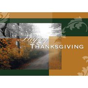 CEO Cards Thanksgiving Greeting Card Box Set of 25 Cards & 26 Envelopes - TH7001