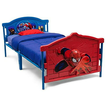 - Childrens Spiderman 3D Twin bed